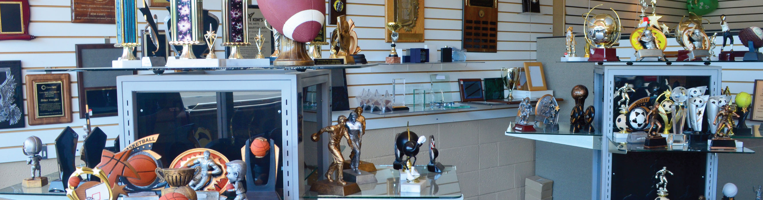 Visit our Trophy & Award Shop!